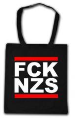"""Zur Baumwoll-Tragetasche """"FCK NZS"""" für 4,00 € gehen."""