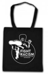 """Zur Baumwoll-Tragetasche """"Fight Racism - Collectivo Sottocultura Antifascista"""" für 6,00 € gehen."""