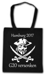 """Zur Baumwoll-Tragetasche """"G20 versenken"""" für 4,00 € gehen."""
