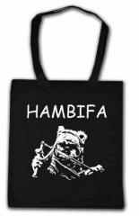 """Zur Baumwoll-Tragetasche """"Hambifa"""" für 4,00 € gehen."""