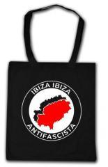"""Zur Baumwoll-Tragetasche """"Ibiza Ibiza Antifascista"""" für 3,90 € gehen."""