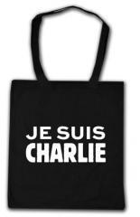 """Zur Baumwoll-Tragetasche """"Je suis Charlie"""" für 4,00 € gehen."""