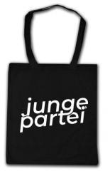 """Zur Baumwoll-Tragetasche """"Junge Partei"""" für 6,00 € gehen."""