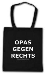 """Zur Baumwoll-Tragetasche """"Opas gegen Rechts"""" für 4,00 € gehen."""