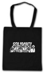 """Zur Baumwoll-Tragetasche """"Solidarity"""" für 4,00 € gehen."""