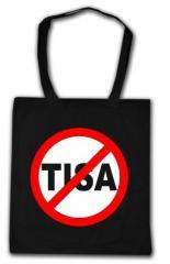 """Zur Baumwoll-Tragetasche """"Stop TISA"""" für 3,90 € gehen."""