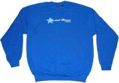 """Zum Sweatshirt """"Red Heat - blue"""" für 30,22 € gehen."""