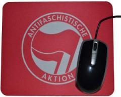 """Zum Mousepad """"Antifaschistische Aktion (rot/rot)"""" für 7,00 € gehen."""