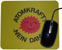 """Zum Mousepad """"Atomkraft? Nein Danke"""" für 7,00 € gehen."""