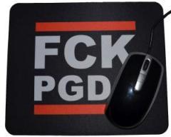 "Zum Mousepad ""FCK PGDA"" für 7,00 € gehen."