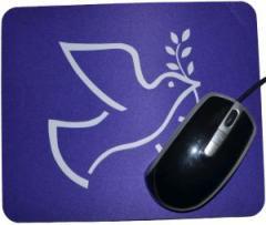 """Zum Mousepad """"Friedenstaube mit Zweig"""" für 7,00 € gehen."""