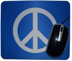 """Zum Mousepad """"Peacezeichen"""" für 7,00 € gehen."""