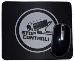 """Zum Mousepad """"Stop Control Kamera"""" für 6,82 € gehen."""