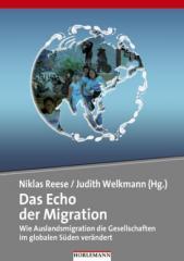 """Zum Buch """"Das Echo der Migration"""" von Niklas Reese und Judith Welkmann (Hrsg.) für 19,90 € gehen."""