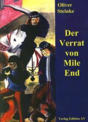 """Zum Buch """"Der Verrat von Mile End"""" von Oliver Steinke für 14,00 € gehen."""