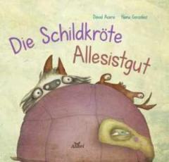 """Zum Buch """"Die Schildkröte Allesistgut"""" für 15,00 € gehen."""