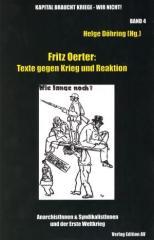 """Zum Buch """"Fritz Oerter: Texte gegen Krieg und Reaktion"""" von Helge Döhring für 16,00 € gehen."""