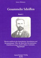 """Zum Buch """"Gesammelte Schriften"""" von Errico Malatesta für 10,50 € gehen."""