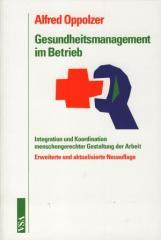 """Zum Buch """"Gesundheitsmanagement im Betrieb"""" von Alfred Oppolzer für 19,80 € gehen."""