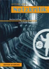 """Zum Buch """"Netzkritik"""" von nettime (Hrsg.) für 14,00 € gehen."""