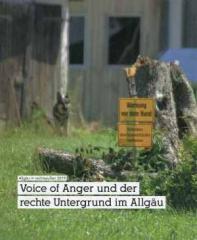 """Zum Buch """"Voice of Anger"""" von Allgäu rechtsaußen 2019 für 5,00 € gehen."""