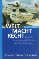 """Zum Buch """"Welt Macht Recht"""" von Oliver Tolmein für 14,50 € gehen."""