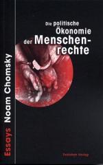 """Zum Buch """"Die politische Ökonomie der Menschenrechte"""" von Noam Chomsky für 18,00 € gehen."""