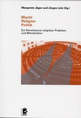 """Zum Buch """"Macht - Religion - Politik"""" von Margarete Jäger und Jürgen Link (Hg.) für 24,00 € gehen."""