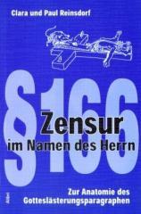"""Zum Buch """"Zensur im Namen des Herrn"""" von Clara Reinsdorf und Paul Reinsdorf (Hrsg.) für 10,00 € gehen."""