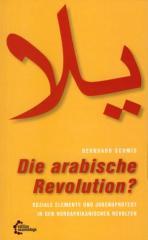 """Zum Buch """"Die arabische Revolution?"""" von Bernhard Schmid für 12,80 € gehen."""