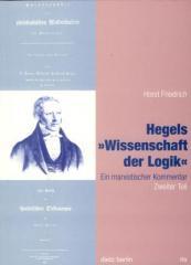 """Zum Buch """"Hegels »Wissenschaft der Logik« 2. Teil"""" von Horst Friedrich für 19,90 € gehen."""
