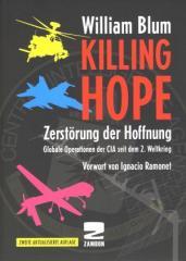 """Zum Buch """"Zerstörung der Hoffnung"""" von William Blum für 25,00 € gehen."""