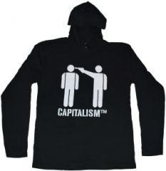 "Zum Kapuzen-Longsleeve ""Capitalism [TM]"" für 17,55 € gehen."