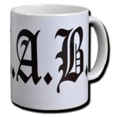 """Zur Tasse """"A.C.A.B."""" für 10,00 € gehen."""