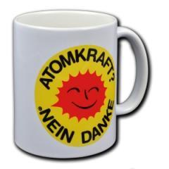 """Zur Tasse """"Atomkraft? Nein Danke"""" für 9,75 € gehen."""