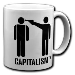 """Zur Tasse """"Capitalism [TM]"""" für 10,00 € gehen."""