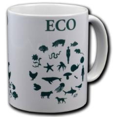 """Zur Tasse """"Ego - Eco"""" für 10,00 € gehen."""