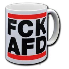"""Zur Tasse """"FCK AFD"""" für 9,75 € gehen."""