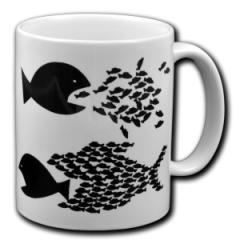 """Zur Tasse """"Fische"""" für 10,00 € gehen."""
