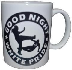 """Zur Tasse """"Good night white pride"""" für 9,75 € gehen."""
