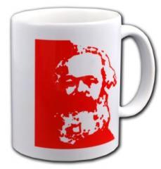 """Zur Tasse """"Karl Marx"""" für 10,00 € gehen."""