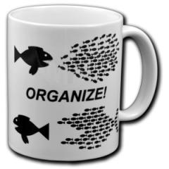 """Zur Tasse """"Organize! Fische"""" für 10,00 € gehen."""