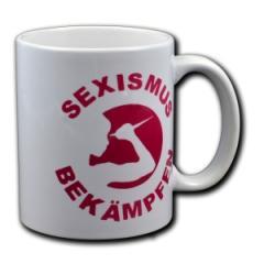 """Zur Tasse """"Sexismus bekämpfen"""" für 10,00 € gehen."""
