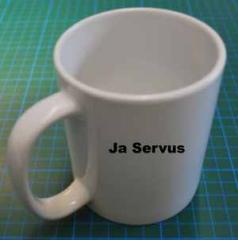 """Zur Tasse """"Tasse mit Deinem Motiv"""" für 15,00 € gehen."""