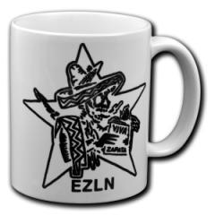 """Zur Tasse """"Zapatistas Stern EZLN"""" für 10,00 € gehen."""