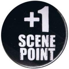 """Zum 25mm Magnet-Button """"+1 Scene Point"""" für 1,95 € gehen."""
