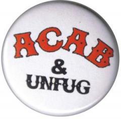 """Zum 25mm Magnet-Button """"ACAB und Unfug"""" für 2,00 € gehen."""
