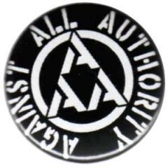 """Zum 25mm Magnet-Button """"Against All Authority (AAA)"""" für 2,00 € gehen."""