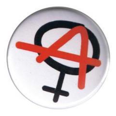 """Zum 25mm Magnet-Button """"Anarchie ist weiblich"""" für 2,00 € gehen."""