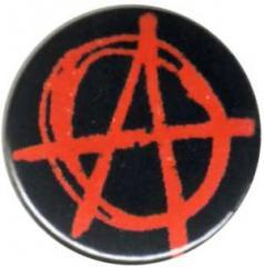 """Zum 25mm Magnet-Button """"Anarchie (rot)"""" für 2,00 € gehen."""